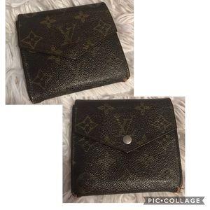 Authentic Louis Vuitton Vintage DBL Elise Wallet